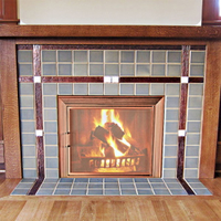 Fireplace Mesh Doors