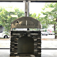 26 Inch Stainless Steel Wood Fired Pizza Oven