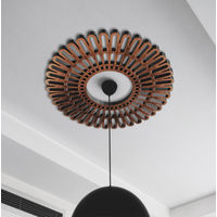 Faux Iron Ceiling Medallion