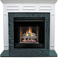 Prefab Fireplace With Granite Facing