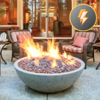Electronic Ignition Fire Bowls