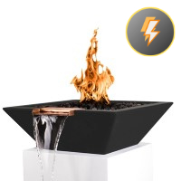 Electronic Ignition Fire & Water Bowls