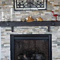 Steel Mantel Shelf