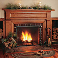 Log holders on Fireplace Doors Online