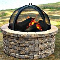 Fire Pit Screens