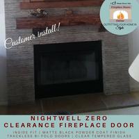 Nightwell Prefab Fireplace Door