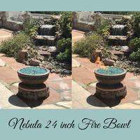 Nebula Fire Bowl