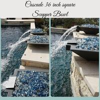 Cascade Scupper Bowls