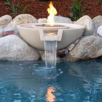 Custom fire & water bowl