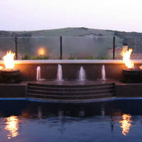 Fire bowls with Crossfire burners