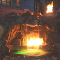 Vesuvius Concrete Fire Bowl