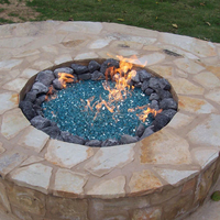 Finished contractor's model fire pit