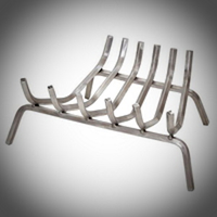 Stainless Steel Fireplace Grates