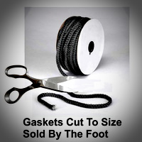 Stove Gaskets Cut To Size By The Foot