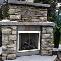 Outdoor Zero Clearance Fireplace Doors