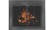 Ardmore Masonry Fireplace Door - Shown riser bar NOT installed