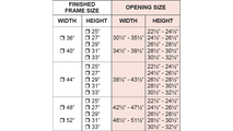 Pioneer Masonry Fireplace Door Sizing Chart