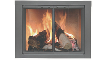 The Carson Masonry Fireplace Door ships within 7 business days!