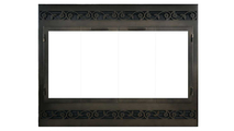 Legend Steel ZC Deluxe Refacing in Espresso with Tuscan louver design