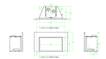 Specs for the Franklin small cf direct vent gas fireplace insert