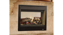 40 Inch See Through Radiant B-Vent Fireplace