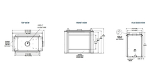 40 Inch See Through Radiant B-Vent Fireplace Specs