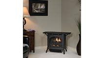 Heritage Vent Free Gas Stove 20 Inch Room Setting