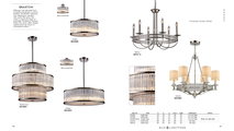 3-Light Braxton Chandelier in Polished Nickel