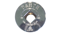 Included Chrome Escutcheon