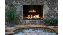 HPC Push Button Dual Step Fireplace H-Burner