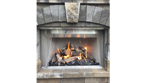 HPC On/Off Dual Step Fireplace H-Burner Electronic Ignition