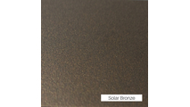 Solar Bronze Finish Sample