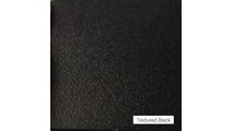 Textured Black Finish