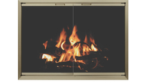 4 Sided Overlap Fit Huntress Zero Clearance Fireplace Door