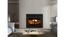 Osburn Horizon Wood Burning Fireplace Room Setting