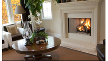 Superior WRT3538 wood burning fireplace Room Setting