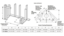 Superior WRT4043 Wood Fireplace Framing Dimensions