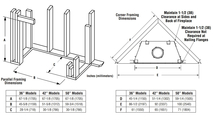 Superior WRT6036 Fireplace Framing Dimensions