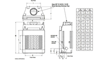 Superior WRT6036 Fireplace Overall Dimensions