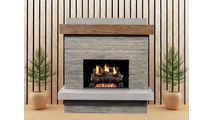 Brooklyn Vented Outdoor Gas Fireplace