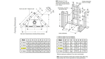 DRT3040 Framing Dimensions
