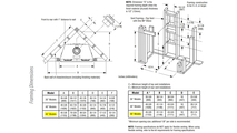 DRT3545 Framing Dimensions