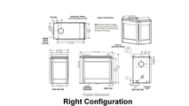 Right Configuration Appliance Dimensions