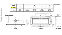 DRL3042 Dimensions