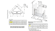 DRL3042 Framing Dimensions
