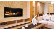 Superior DRL3042 Linear Direct Vent Gas Burning Fireplace