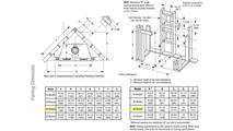 DRT2040 Framing Dimensions