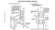 DRT35ST Framing Dimensions