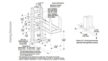 DRT40PF Framing Dimensions