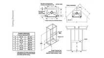 WCT6820 Framing Dimensions